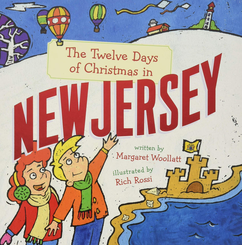 Marissa's Books & Gifts, LLC 9781454929161 The Twelve Days of Christmas in New Jersey