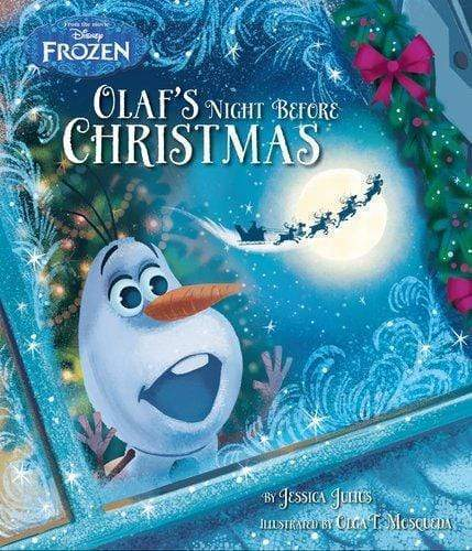 Marissa's Books & Gifts, LLC 9781474829403 Disney Frozen: Olaf's Night Before Christmas