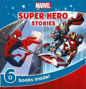 Marissa's Books & Gifts, LLC 9781474836715 Marvel Super Hero Stories: 6 Books Inside!