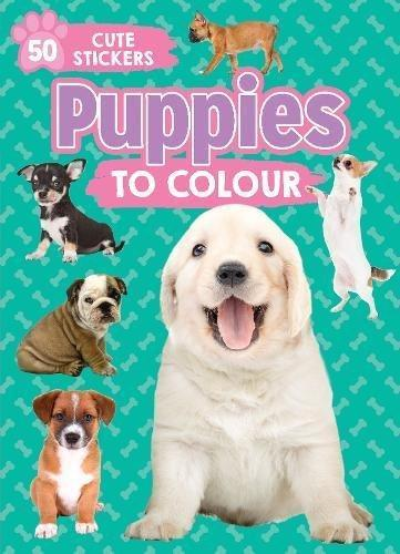 Marissa's Books & Gifts, LLC 9781474882132 Puppies To Color: 50 Cute Stickers