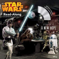 Star Wars: A New Hope Read-Along Storybook and CD - Marissa's Books