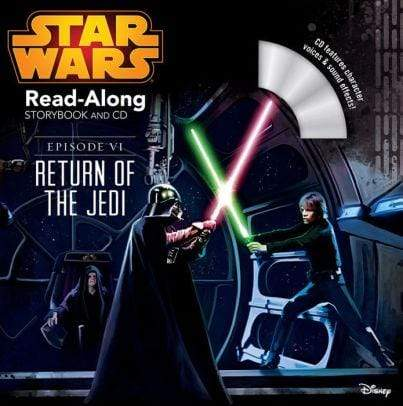Star Wars: Return of the Jedi Read-Along Storybook and CD - Marissa's Books
