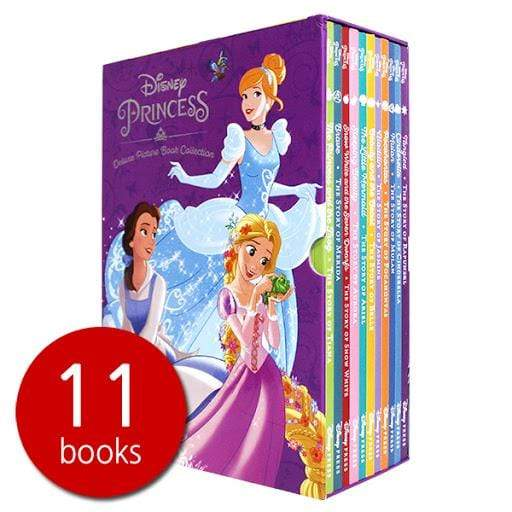Marissa's Books & Gifts, LLC 9781484752654 Disney Princess Deluxe Picture Book Collection - 11 Books Set