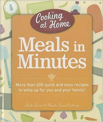 Cooking At Home: Meals In Minutes - Marissa's Books