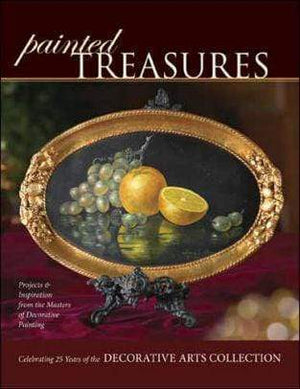 Marissa's Books & Gifts 9781581808803 Painted Treasures: Projects And Inspirations From The Masters Of Decorative Painting