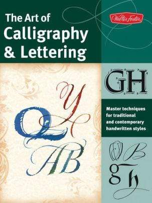 The Art of Calligraphy & Lettering - Marissa's Books