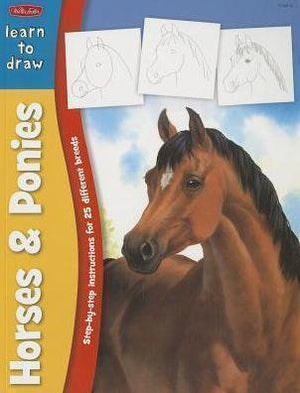 Marissa's Books & Gifts 9781600583537 Learn to Draw Horses & Ponies