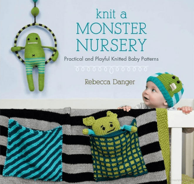 Marissa's Books & Gifts, LLC 9781604681499 Knit a Monster Nursery: Practical and Playful Knitted Baby Patters