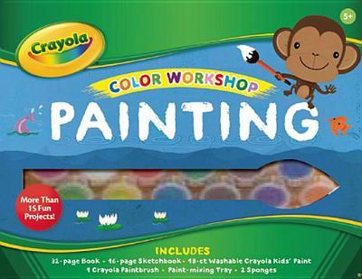 Marissa's Books & Gifts, LLC 9781607106326 Crayola Color Workshop: Painting