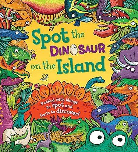 Marissa's Books & Gifts, LLC 9781609927271 Spot the Dinosaur on the Island