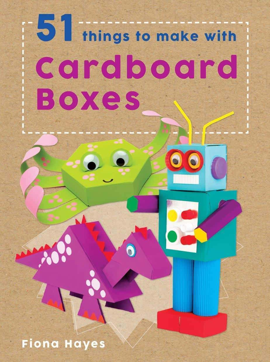 Marissa's Books & Gifts, LLC 9781609928346 51 Things to Make with Cardboard Boxes