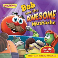 Marissa's Books & Gifts 9781617955846 Bob & the Awesome Mustache-VeggieTales in the House