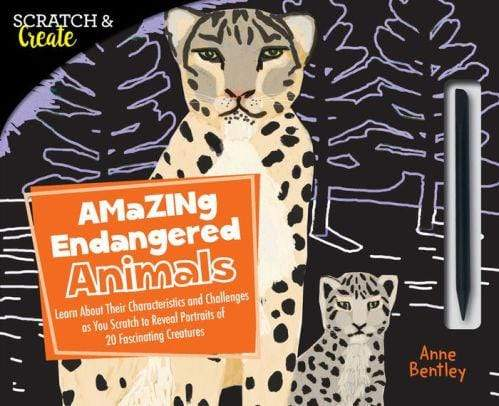 Scratch & Create: Amazing Endangered Animals - Marissa's Books