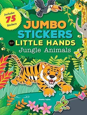 Marissa's Books & Gifts, LLC 9781633221192 Jumbo Stickers for Little Hands: Jungle Animals: Includes 75 Stickers