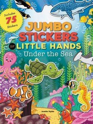Marissa's Books & Gifts 9781633221567 Jumbo Stickers for Little Hands: Under the Sea: Includes 75 Stickers