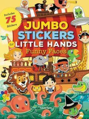 Marissa's Books & Gifts, LLC 9781633222304 Jumbo Stickers for Little Hands: Funny Faces