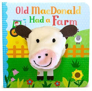 Marissa's Books & Gifts 9781680524352 Old MacDonald Had a Farm Finger Puppet Book