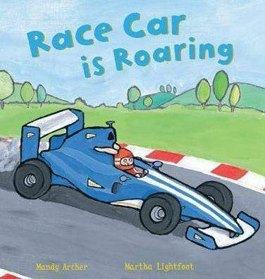 Marissa's Books & Gifts 9781682970447 Race Car is Roaring