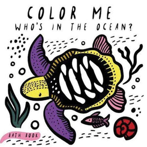 Marissa's Books & Gifts 9781682971413 Color Me: Who's in the Ocean?