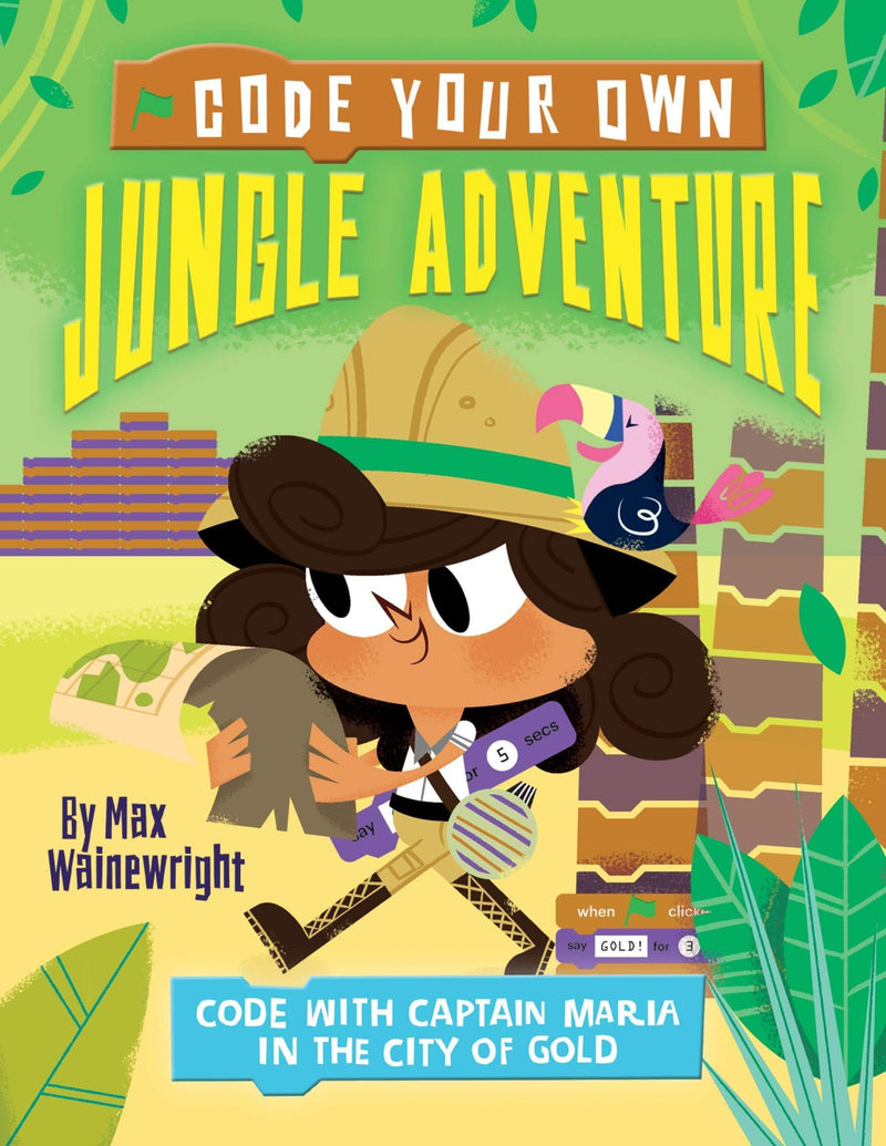 Marissa's Books & Gifts, LLC 9781682971796 Jungle Adventure: Code With Captain Maria In The City Of Gold (Code Your Own)