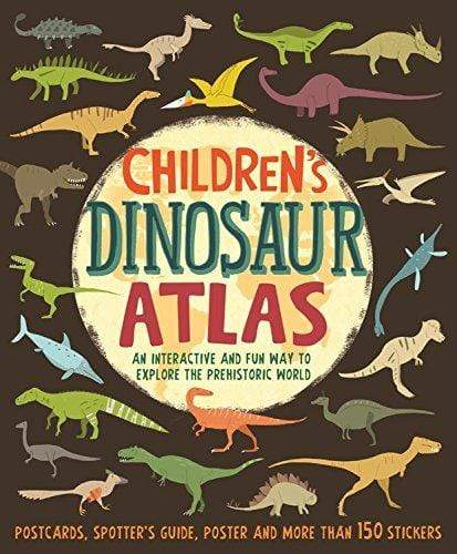 Marissa's Books & Gifts, LLC 9781682971987 Children's Dinosaur Atlas