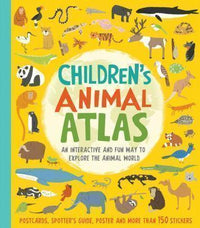Marissa's Books & Gifts 9781682973417 Children's Animal Atlas