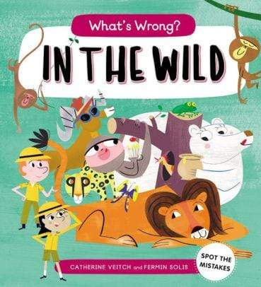 What's Wrong? In the Wild - Marissa's Books