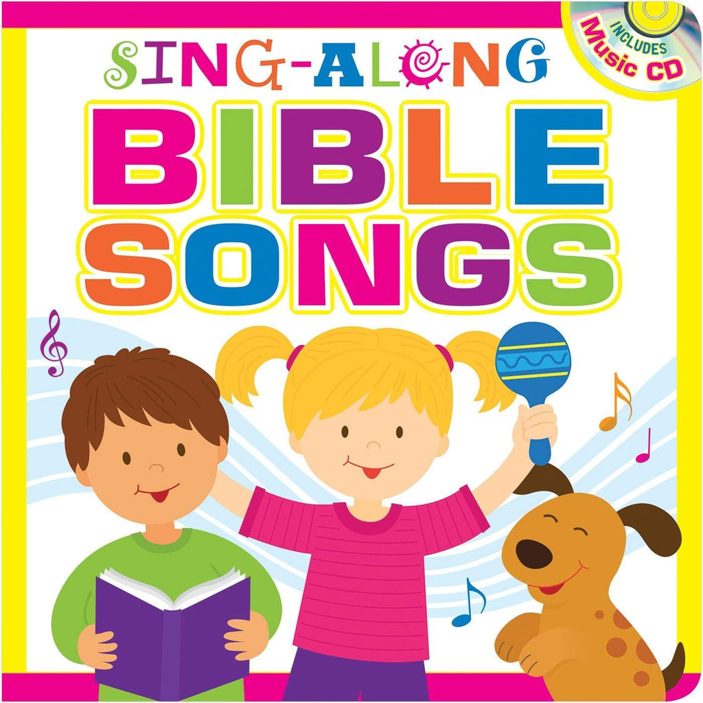 Marissa's Books & Gifts, LLC 9781683225850 Sing-Along Bible Songs Storybook for Kids