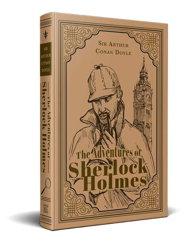 Marissa's Books & Gifts, LLC 9781774021668 The Adventures of Sherlock Holmes (Paper Mill Classics)