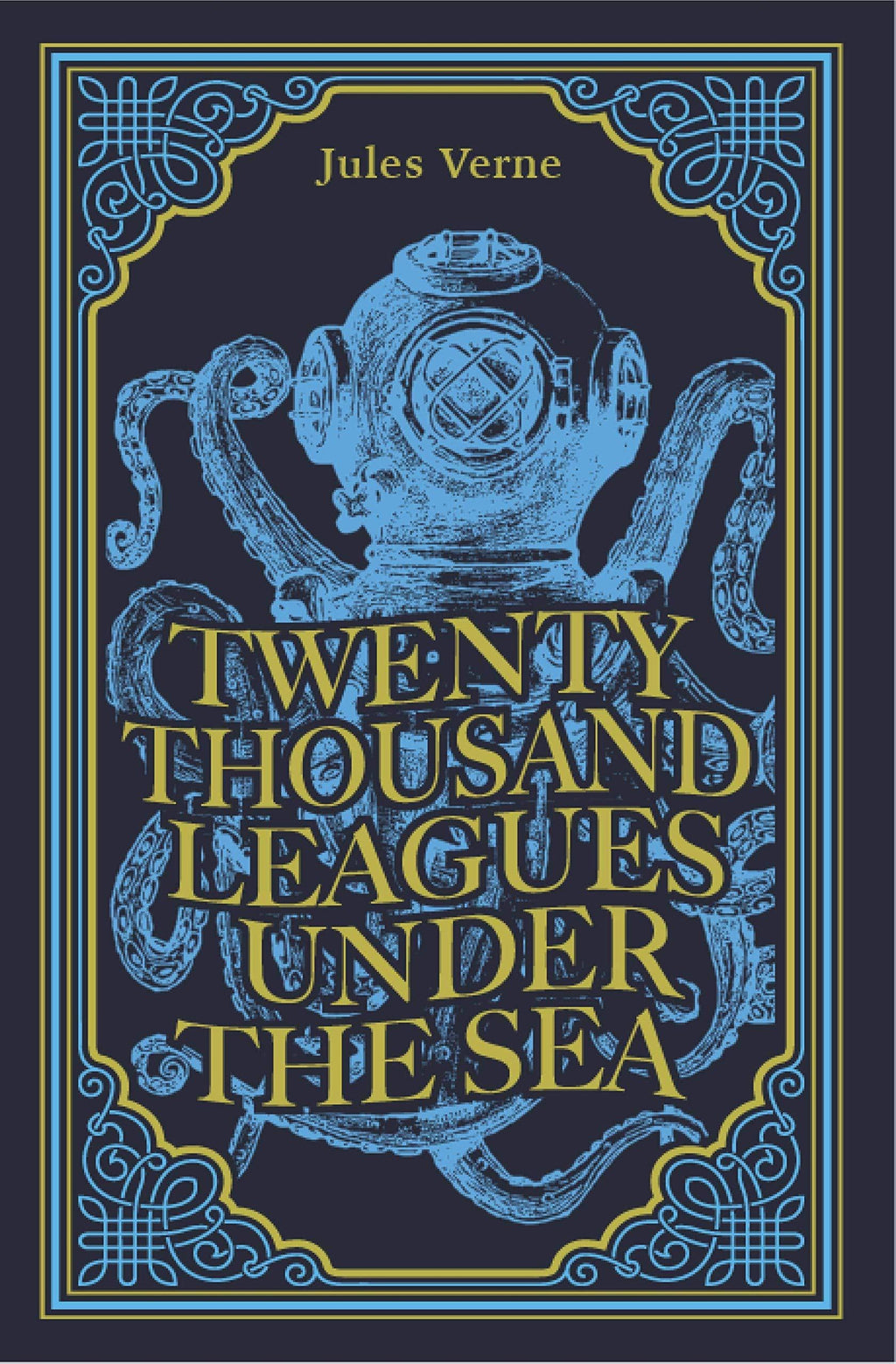 Marissa's Books & Gifts, LLC 9781774021712 Twenty Thousand Leagues Under the Sea, Suede Cover, Ribbon Page Marker