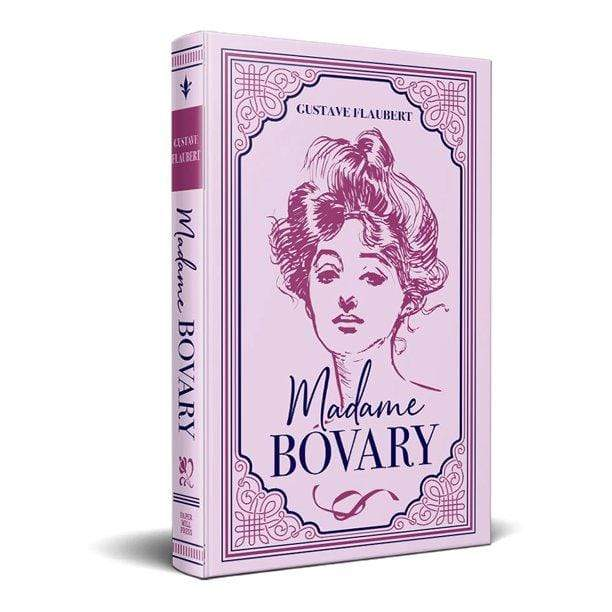 Marissa's Books & Gifts, LLC 9781774021798 Madame Bovary, Suede Cover, Ribbon Page Marker