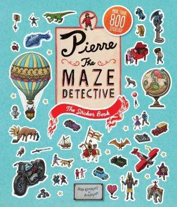 Pierre the Maze Detective - The Sticker Book - Marissa's Books