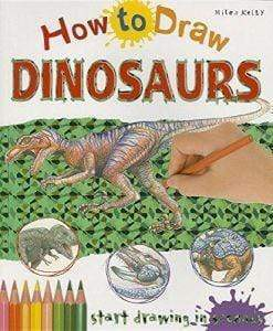 Marissa's Books & Gifts 9781782099147 How to Draw Dinosaurs