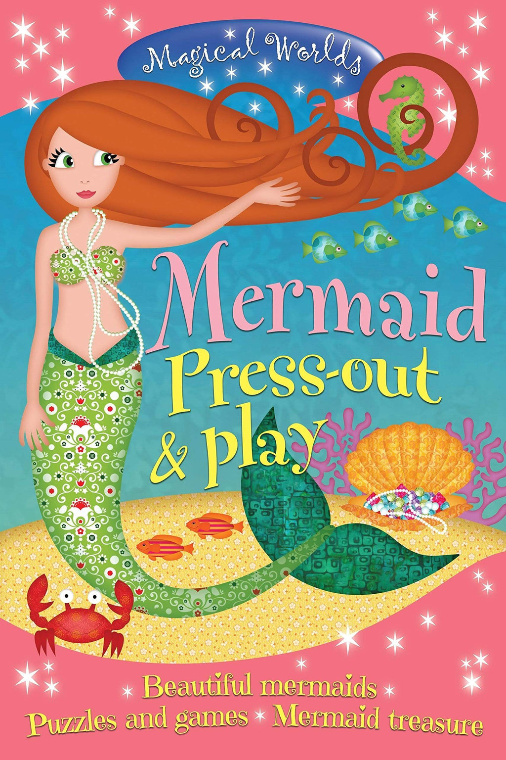Marissa's Books & Gifts, LLC 9781782122999 Magical Worlds Mermaid Press-out & Play