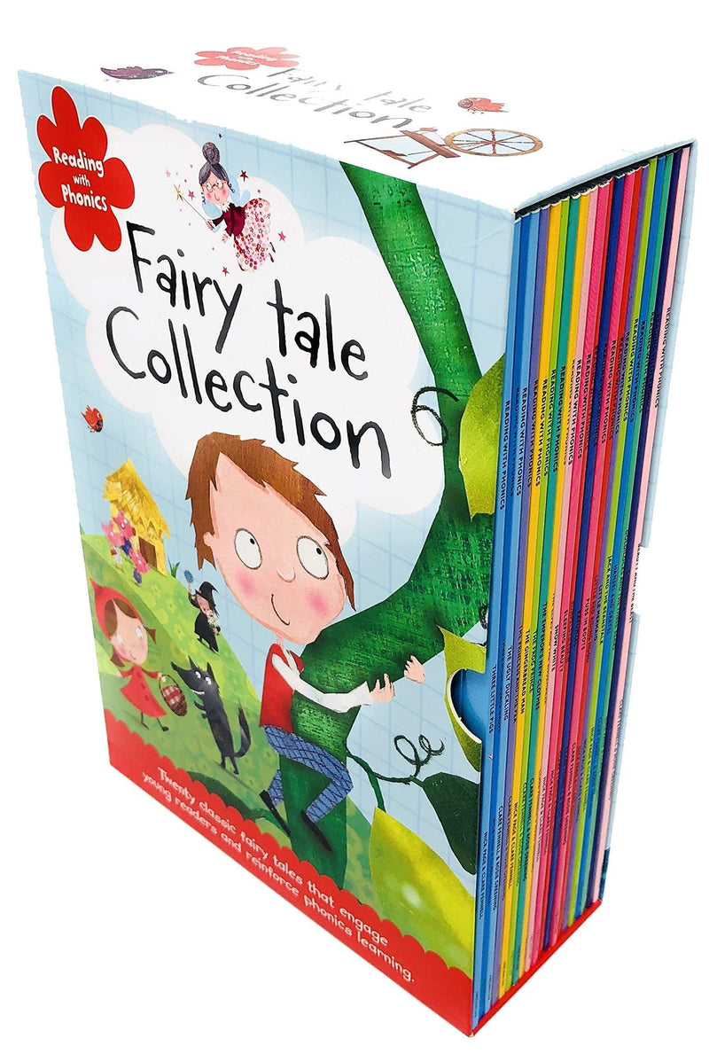 Marissa's Books & Gifts, LLC 9781782354918 Reading With Phonics Fairy Tale Collection 20 Books Set