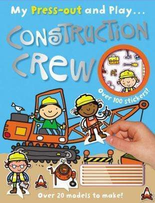 Marissa's Books & Gifts, LLC 9781782355687 Press-Out and Play Construction Crew