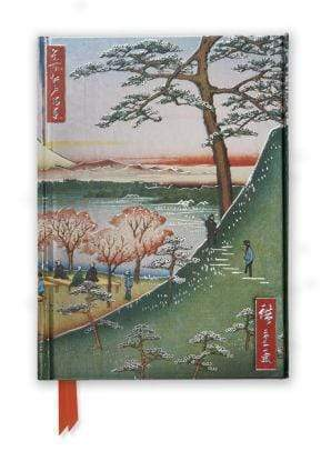 Marissa's Books & Gifts 9781783611898 Flame Tree Notebook (Hiroshige Fuji)Size 8.5''x 6.125''