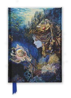 Marissa's Books & Gifts 9781783611935 Josephine Wall Daughter of the Deep (Foiled Journal)Size 8.5''x 6.125''