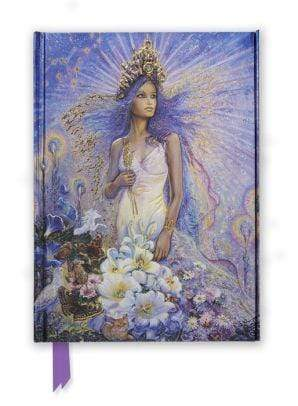 Marissa's Books & Gifts 9781783616688 Virgo by Josephine Wall Foiled Journal Size 8.5''x 6.125''