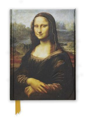 Marissa's Books & Gifts, LLC 9781783616725 Da Vinci's the Mona Lisa Foiled Journal Size 8.5''x 6.125''