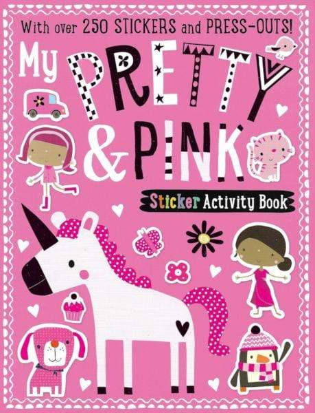 My Pretty & Pink Sticker Activity Book - Marissa's Books