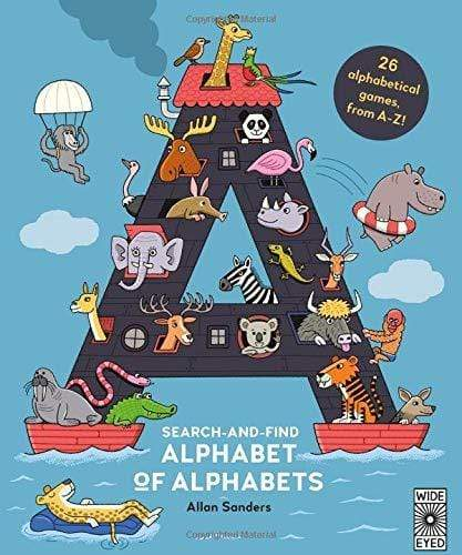 Marissa's Books & Gifts, LLC 9781786030023 Search and Find Alphabet of Alphabets