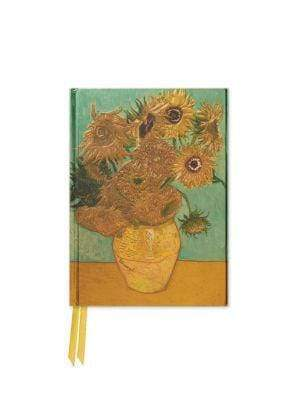 Marissa's Books & Gifts 9781786640239 Van Gogh: Sunflowers (Foiled Pocket Journal) Size 6.125'' x 4.375''