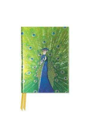 Marissa's Books & Gifts 9781786640666 Peacock in Blue and Green (Foiled Pocket Journal)Size 6.125'' x 4.375''