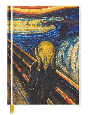 Marissa's Books & Gifts, LLC 9781786641335 Edvard Munch: The Scream (Blank Sketch Book)Size 11''x 9''