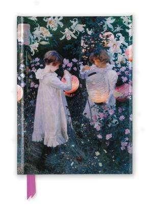 Marissa's Books & Gifts 9781786646224 John Singer Sargent: Carnation, Lily, Lily, Rose (Foiled Journal)Size 8.5''x 6.125''