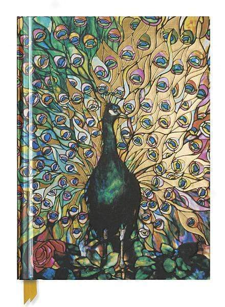 Marissa's Books & Gifts 9781786646316 Tiffany: Displaying Peacock (Blank Sketch Book)Size 11''x 9''