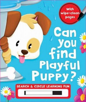Marissa's Books & Gifts, LLC 9781786701336 Find The Puppy (search & Seek Wipe Clean)