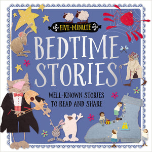 Marissa's Books & Gifts, LLC 9781786925695 Five-Minute Bedtime Stories