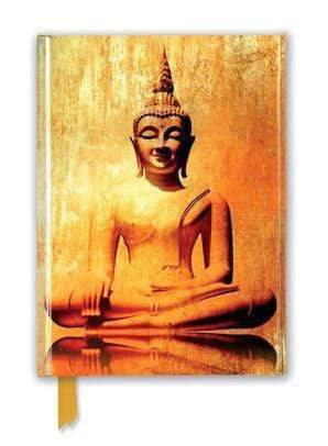 Marissa's Books & Gifts 9781787550155 Golden Buddha (Foiled Journal)Size 8.5''x 6.125''